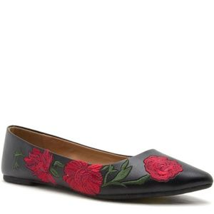 Qupid Shoes - Moving Sale! Floral Flats